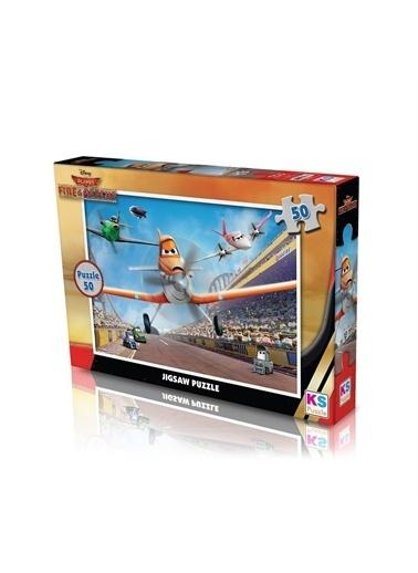 KS Puzzle KS Puzzle PL709 Disney Planes Jigsaw Temalı 50 ParÇa Çocuk Puzzle Renkli